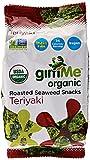 GimMe Organic Roasted Seaweed Snacks Teriyaki -- 0.35 oz by Gimme