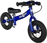 BIKESTAR® Premium Kids Safety Balance Bike for little adventurers aged from 2 years ★ 10s Sport Edition ★ Adventurous Blue