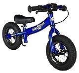Bikestar Bicicletta senza pedali 2-3 anni per bambino et bambina ★ Bici senza pedali bambini con freno 10 pollici sportivo ★ Blu