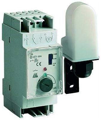 Sesam EDS 35 Dämmerungsschalter mit separatem Lichtfänger, EB - 2-10.000 LUX, 2 TE von Sesam bei Lampenhans.de