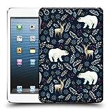 Head Case Designs Offizielle Julia Badeeva Eisbaer 1 Tierische Muster 4 Ruckseite Hülle für iPad Mini 1 / Mini 2 / Mini 3