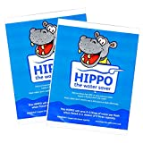 2 x Hippo Water Saver - 9L Water Saving Hippo Bags