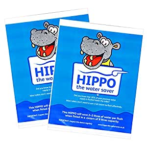 2x Hippo Water Saver Save Money On Water Bills Every