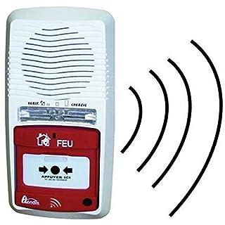 Alarmtyp 4 autonomes Radio Axendis Reichweite 100 Meter