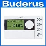 Buderus Raumcontroller RC 35 mit Außentemperaturfühler