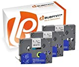 Bubprint 3 Schriftbänder kompatibel für Brother TZE-221 TZE 221 für P-Touch 1280 2430PC 2730VP 3600 9500PC 9700PC D400VP D600VP H100LB H105 P700 P750W