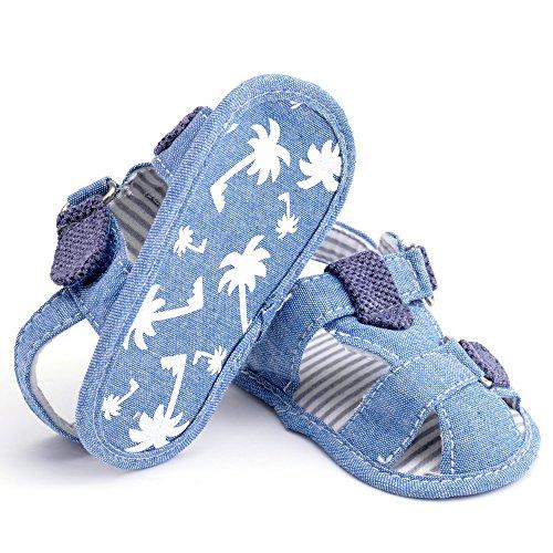 Estamico,bambino sandali del ragazzo, pattini infantili estate Denim Blue