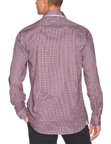 Cremieux Herren Business Hemden  ,Kariert Rot