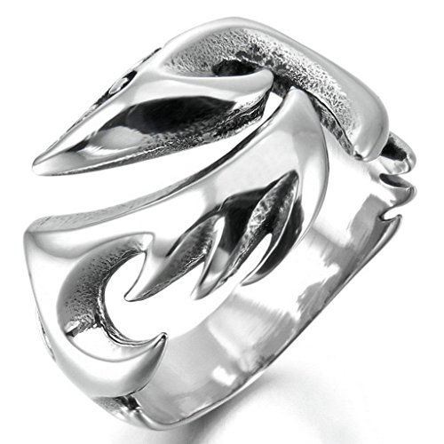 epinkifashion-jewelry-mens-stainless-steel-rings-band-silver-phoenix-bird-firebird-gothic-size-t-1-2