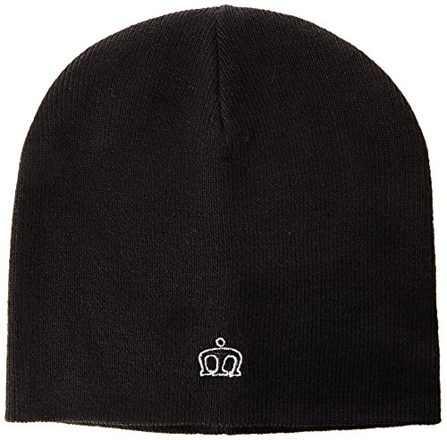 Merc of London Collins, Beanie Hat Bob, Noir, Unique (Taille Fabricant: One Size) Homme