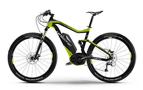 Haibike XDURO FullSeven RX 27.5 Mountain eBike 2015 (Schwarz/Grün, 50cm)
