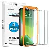 OMOTON [4 Stück] Schutzfolie für iPhone 11 Pro Max/iPhone