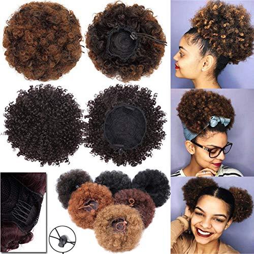 Edle Synthetische Haar Bundle Deal 10 Zoll 2 Pcs Medium Haar 100% Kanekalon Faser Für Schwarze Frauen Maschine Doppel Schuss Bundles 100g Haarverlängerung Und Perücken Synthetische Haarverlängerung