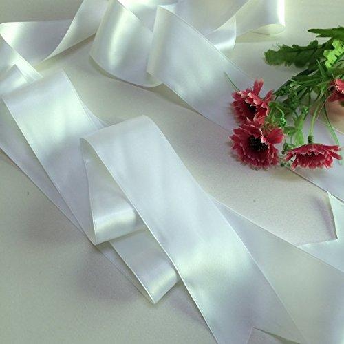 Hochzeit Gürtel Applique Braut-Gürtel, Schärpe, Gürtel Applikationen, Crystal Strass aus weißen Perlen RA219 - 3