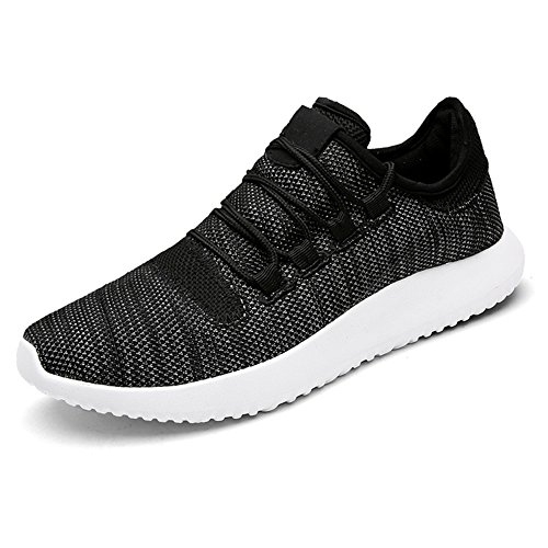 Mens Ladies Trainers Lace-ups Sports Casual Breathable Shoes Lightweight Outdoor Unisex Athletic Footwear