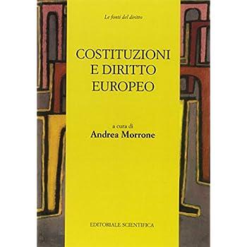 Costituzioni E Diritto Europeo