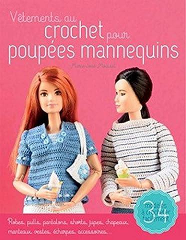 Vêtements au crochet pour poupée mannequin