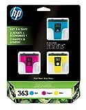 HP 3633er Pack–Tintenpatrone–3x Farbe (cyan, magenta, gelb)–Bliste.