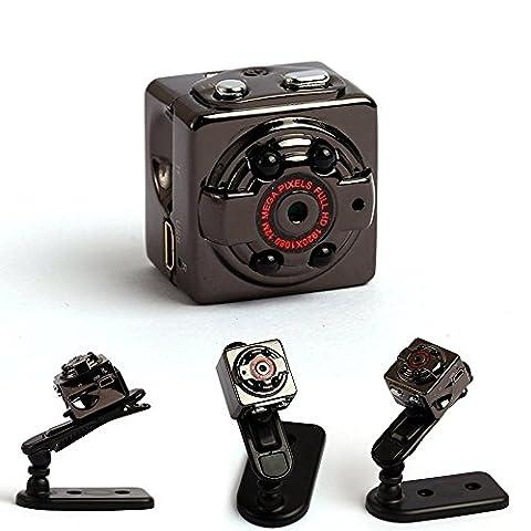 Mini Spy cameras,emee 8GB Memory,Sport DV Full HD 1080P 12.0MP