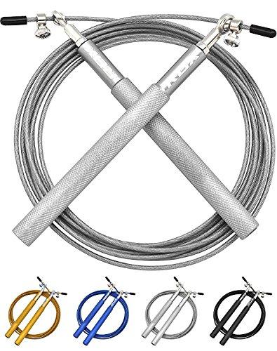 RDX Verstellbares Boxen Spring Seil Jump Crossfit Gewichtsverlust Kabel Uberspringen Komfortablen Griffen