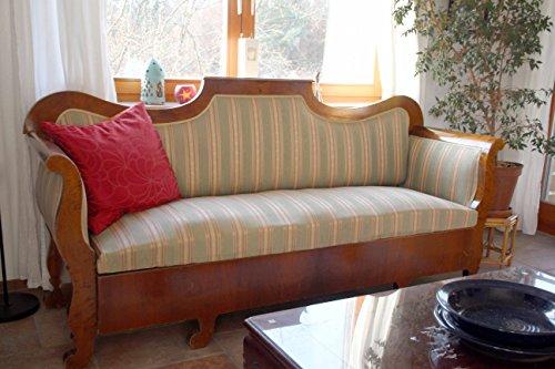 KAFKA-ANTIK Schönes und gut erhaltenes Biedermeier-Sofa