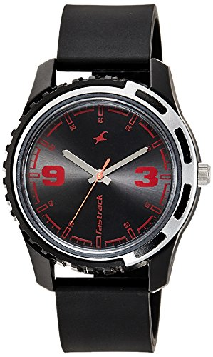 Fastrack Casual Analog Black Dial Men's Watch -NJ3114PP03C