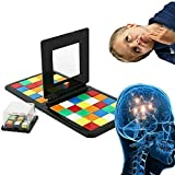 WXXW Magic Block Rubiks Race Juego Secuencia de Estrategia de Ritmo rápido Juego de Mesa, Cara a Cara Juego de Dos Jugadores,1Pack
