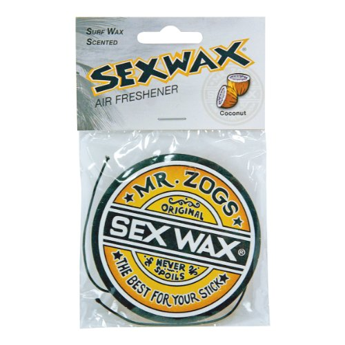 Surf Accessories Sex Wax - Ambientador para coche con fragancia de coco