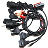 OBD OBD2 OBDII Adapter Cable Pack for AUTOCOM CDP Pro Car Diagnostic Tool