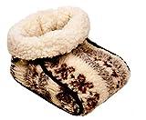 Cordero flor calientes lana Zehenwärmer calor Guantes Saco 25X 35X 17Cm