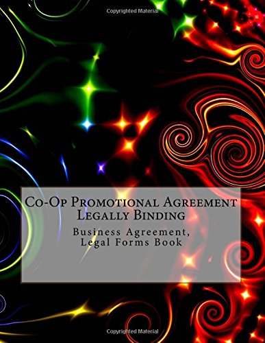 co-op-promotional-agreement-legally-binding-business-agreement-legal-forms-book