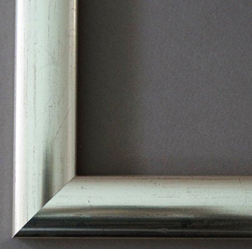 Spiegel Wandspiegel Badspiegel Flurspiegel Garderobenspiegel - Über 200 Größen - Imola Silber Rot geschliffen 3,6 - Außenmaß des Spiegels 80 x 100 - Wunschmaße auf Anfrage - Antik, Barock