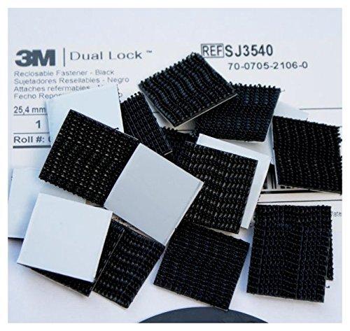 black-3m-dual-lock-tape-pads-25mm-50mm-or-100mm-long-x-25mm-wide-mega-strong-self-adhesive-vhb-faste