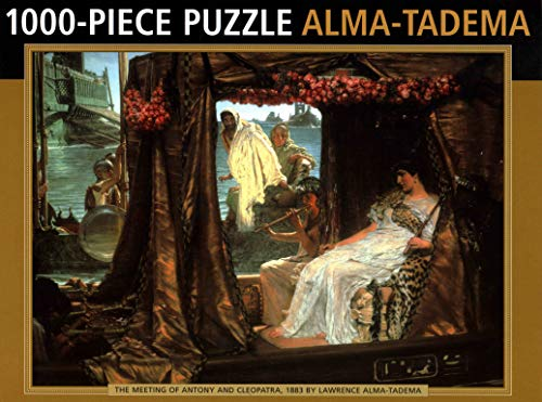 Jigsaw: Alma-Tadema: 1000-piece puzzle: 'The Meeting of Antony and Cleopatra' 1883 by Lawrence Alma-Tadema por Anness Publishing Ltd