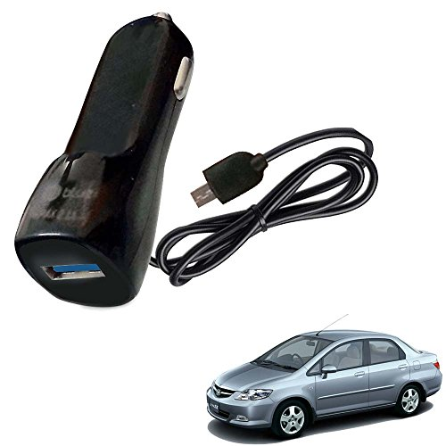 Vheelocityin Bluei 6 Month Warranty Car USB Charger Fast Charging USB Charger For Honda City ZX