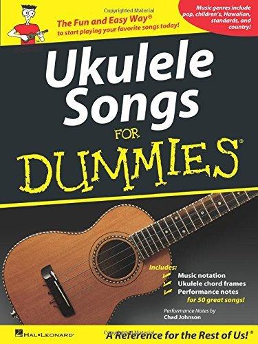 Ukulele Songs for Dummies (2011-12-01)