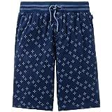 Schiesser Jungen Schlafanzughose Mix & Relax Jerseybermuda Blau
