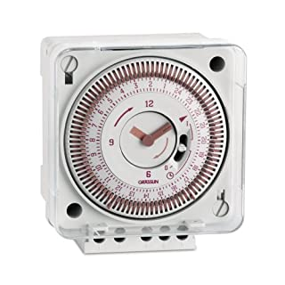 GRÄSSLIN tactic 111.2 - 01.79.0001.1 - Daily Analogue Universal Time Switch - 1 channel - flush mounting - 15 minute tappet intervals