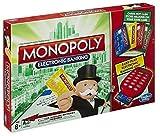 Monopoly juego de cartas electrónico de banca para niños, juego familiar fácil de jugar