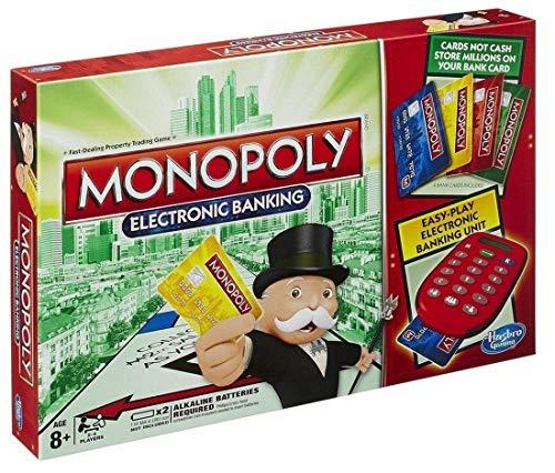 Monopoly Elektronisches Brettspiel für Kinder, Familien-Set, einfaches Spielen, Kartenspiel