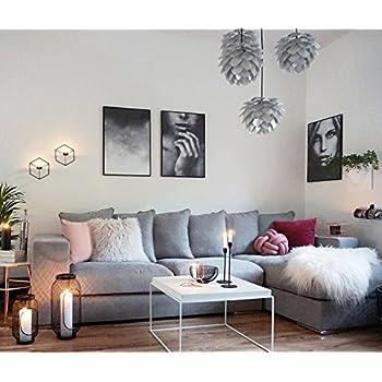 Amaris Elements Moore Ecksofa Inkl 6 Kissen Samt Sofa Länge 3m