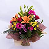 Fresh Flowers- Free UK Delivery -Graceful Bouquet is a Beautiful Bouquet for Any Occasion.Birthday- Thank You- Congratulation
