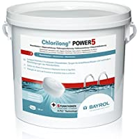 Bayrol Chlorilong Power 5multifunción Tablette à 250g cloro Desinfectante 5kg