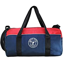 Urban Tribe Barrel with Shoe Compartment 23 litres Blue-Red Gym Bag