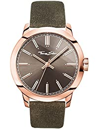 2a7498242c0 Thomas Sabo Mens Analogue Quartz Watch with Leather Strap WA0314-266-205-46