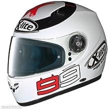 MOTOCICLETA casco integral CASCO XLITE JORGE LORENZO capacete X602 tg m de carbono