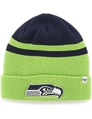 Seattle Seahawks '47 Brand Cedarwood Cuff Knit Beanie by 47 Brand