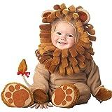 Disfraz León para bebé - Lujo 0-6 meses (50-68)