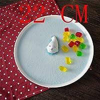 PORCN Nordic Keramik Kreative obstteller 3D stereoskopische süßigkeiten Dessert Snack Platte wohnkultur hochzeitsdekoration Handgemachte Gericht Geschenke, G