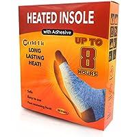 WORLD-BIO Plantillas calentadoras Las Plantillas del Calentador de pies proporcionan 8 Horas de Calefacción: 20 Pares